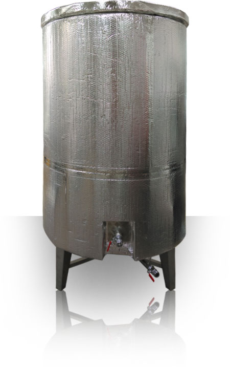 Stainless Steel Hot Liquor Tanks