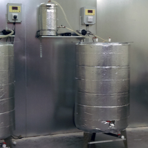 Stainless Steel Vessels with temperature control