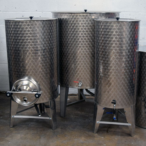 Stainless Steel Tanks for Storage
