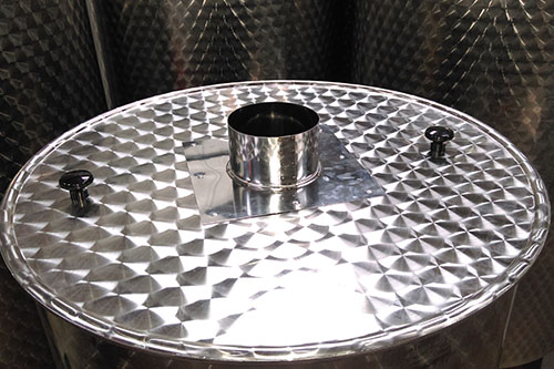 Thermally efficient steam removal - Stainless Steel Kettel Tanks