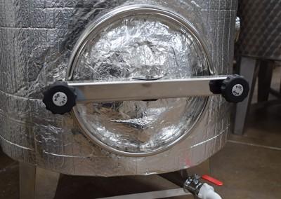 Stainless Steel Mash Turn Tanks 1