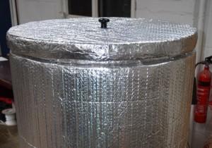 Steel Fermenters Vessel Fully Insulated 2