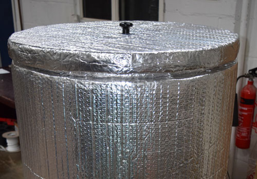 Fully Insulated - Stainless Steel Hot Liquor Tanks
