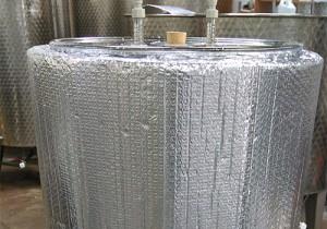 Steel Fermenters Vessel Fully Insulated