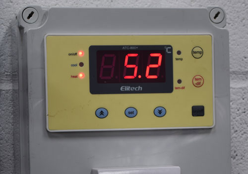 Digital Temperature Control - Stainless Steel Fermenting Tanks