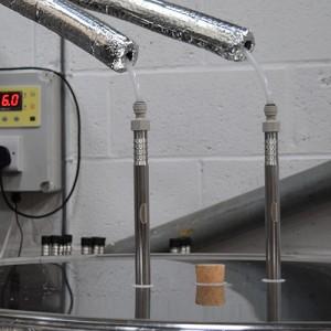 Steel Fermenting Vessel Close Up 4